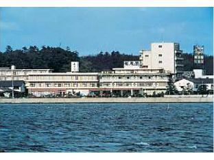 夕景湖畔水天閣 image