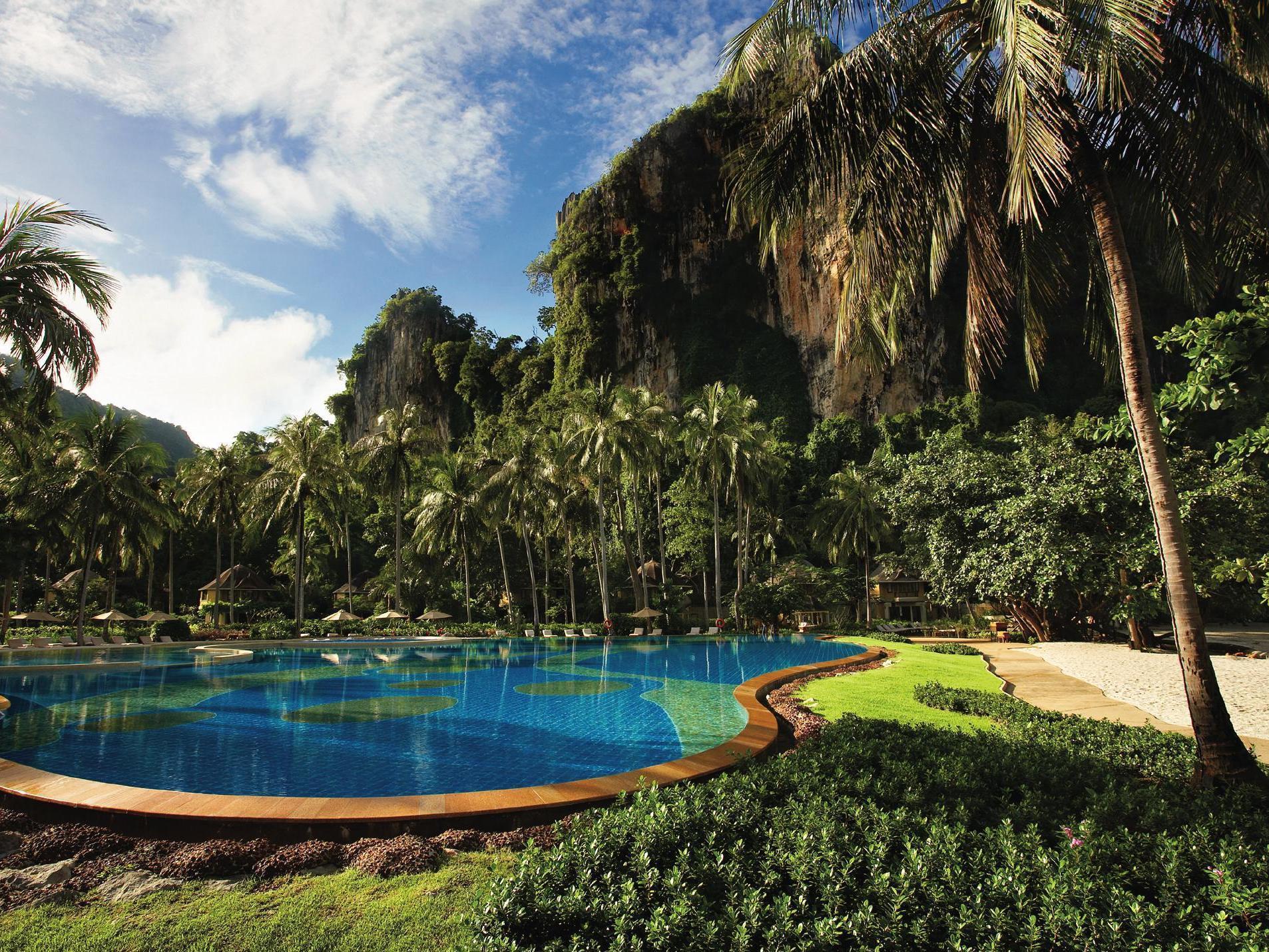 Rayavadee Hotel Krabi Map