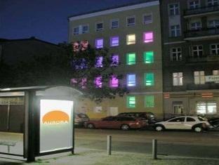 Aurora Hostel Berlin - Hotellet från utsidan
