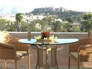 Eridanus Luxury Art Hotel Athens - Balcony/Terrace