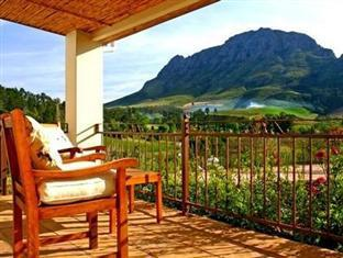 Alluvia Specialist Winery Guest House Stellenbosch - View From Patio