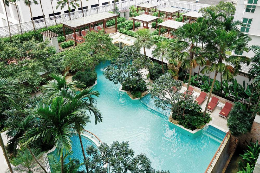 Dusit Suites Hotel Ratchadamri, Bangkok