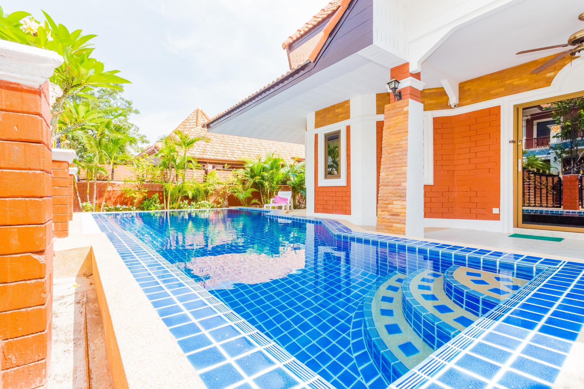Pool villa garden 4 bedrooms near walking street,Pool villa garden 4 bedrooms near walking street