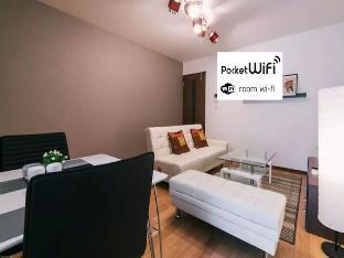 Comfortable 1 Bedroom Apt near Tenjin & Hakata  E