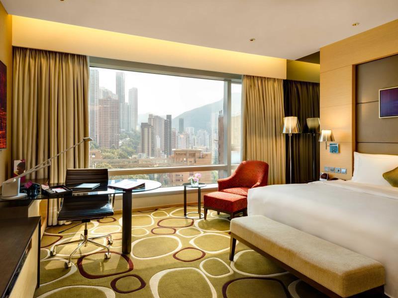 クラウン プラザホテル 香港 コーズウェイベイ