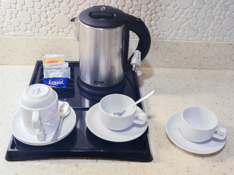 Electric Kettle With Coffee