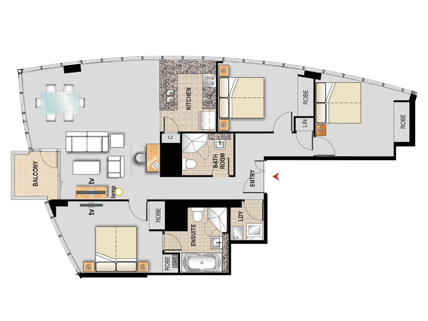 Australia Hotel Accommodation Cheap | Floor Plans