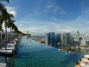 Marina Bay Sands Singapur - Piscina