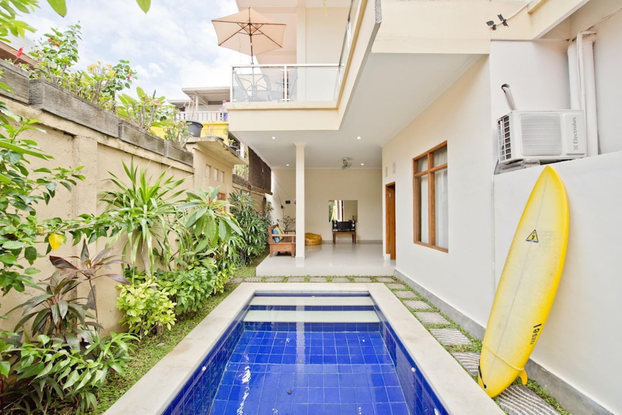 3 Bedroom Kuta Villa Walking Distance to the Beach