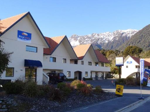 Best guest rating in Fox Glacier ➦ Sunset Motel takes PayPal