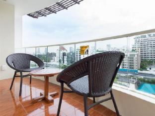 Lohas Suites Sukhumvit by Superhotel Thailand Bangkok - Balkon/Terrasse