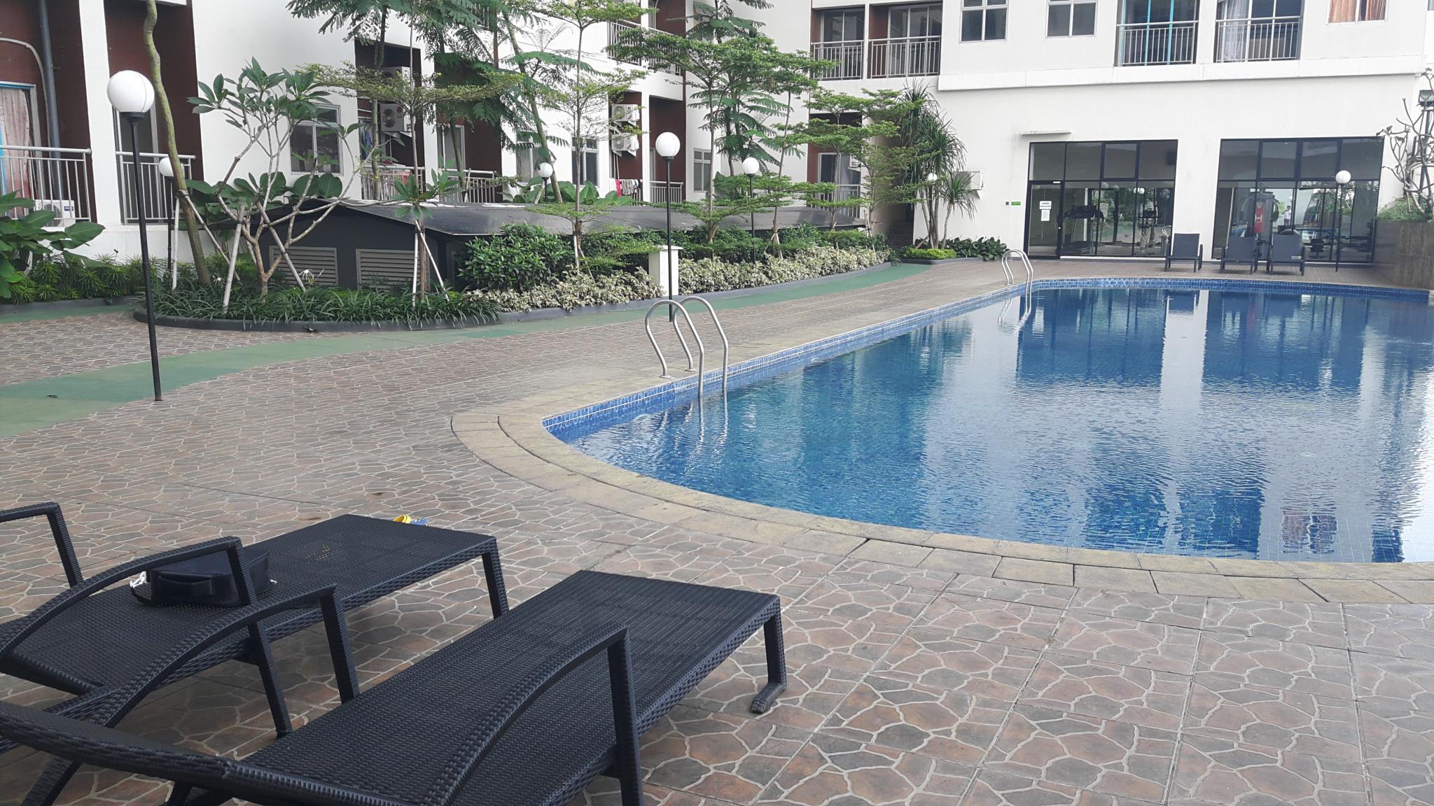 Hotel Apartemen Serpong Greenview - Queen Room - Jl. Lengkong Gudang Timur, Lengkong Gudang Timur, Serpong, Tangerang Selatan, Banten - Tangerang