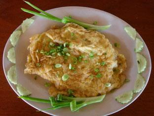 Koh Ker Hotel Siem Reap -  Fried eggs