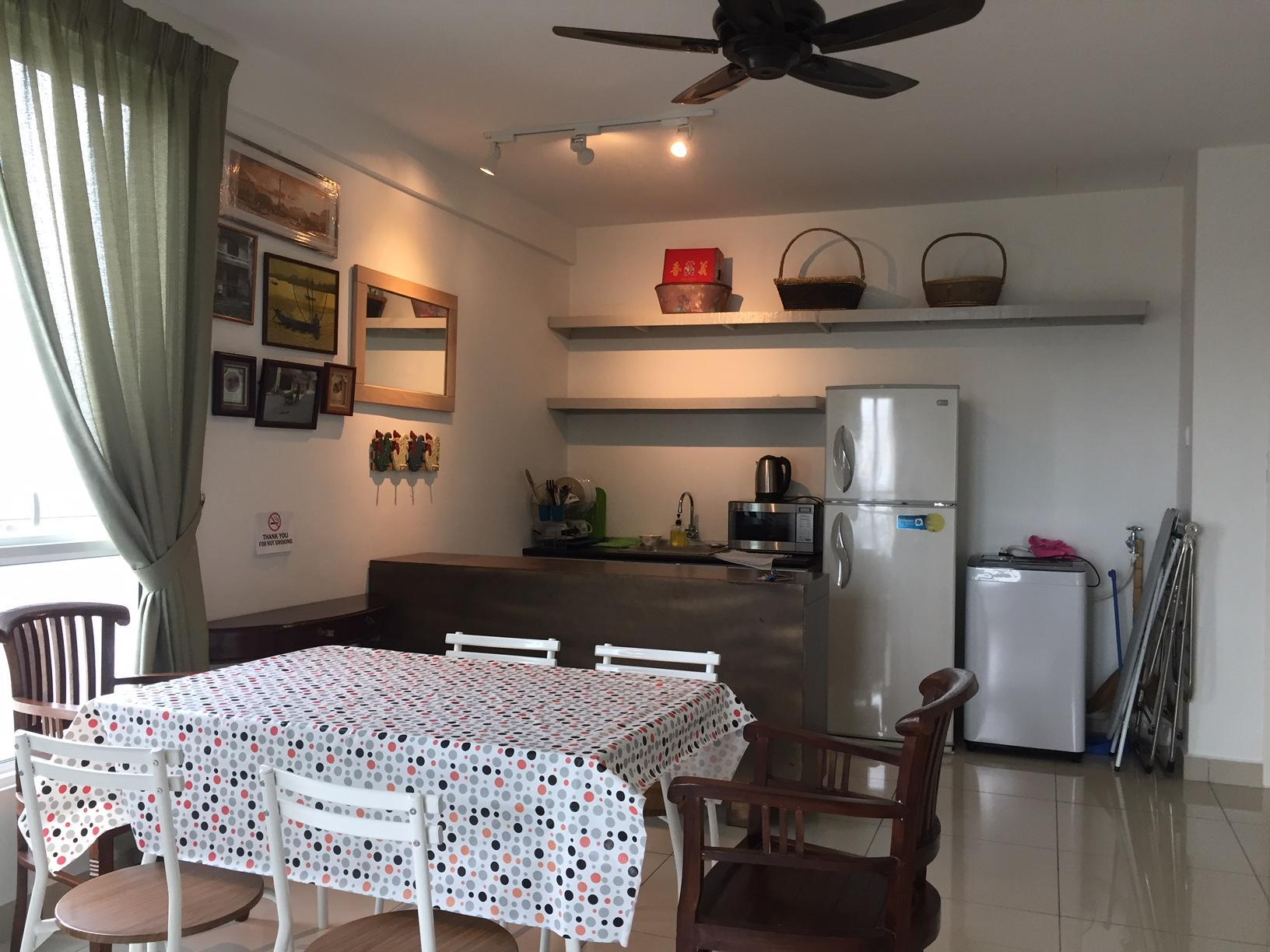 Mansion One Sanctuary 2 Bedroom Apartm't Mid Floor Penang Malaysia