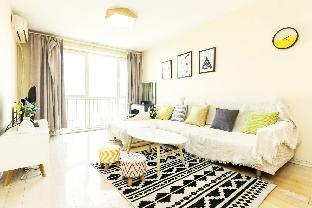 2 Bedroom Apartment near Houxiandaicheng-Northern European Style