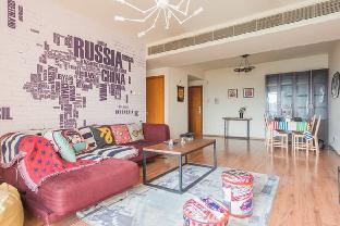 2 Bedroom Apartment near Wangjing SOHO&798 Art Zone-Deluxe American Style