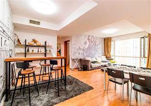 2 Bedroom Apartment near Wangjing SOHO&798 Art Zone-Concise Style