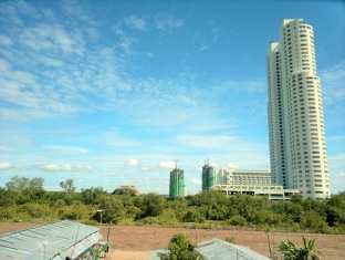 Joe Palace Beach Living Jomtien Pattaya - View From Balcony
