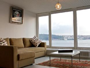 Diva Bosphorus Apartments Istanbul - Penthouse - Living room