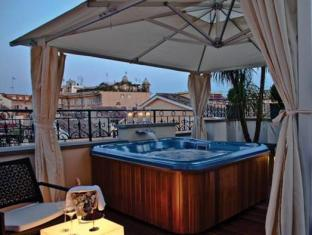 The First Luxury Art Hotel Roma - Member of Preferred Boutique Hotels Rome - Hot Tub