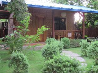 L'Elephant Bleu Cottages 보홀 -  정원