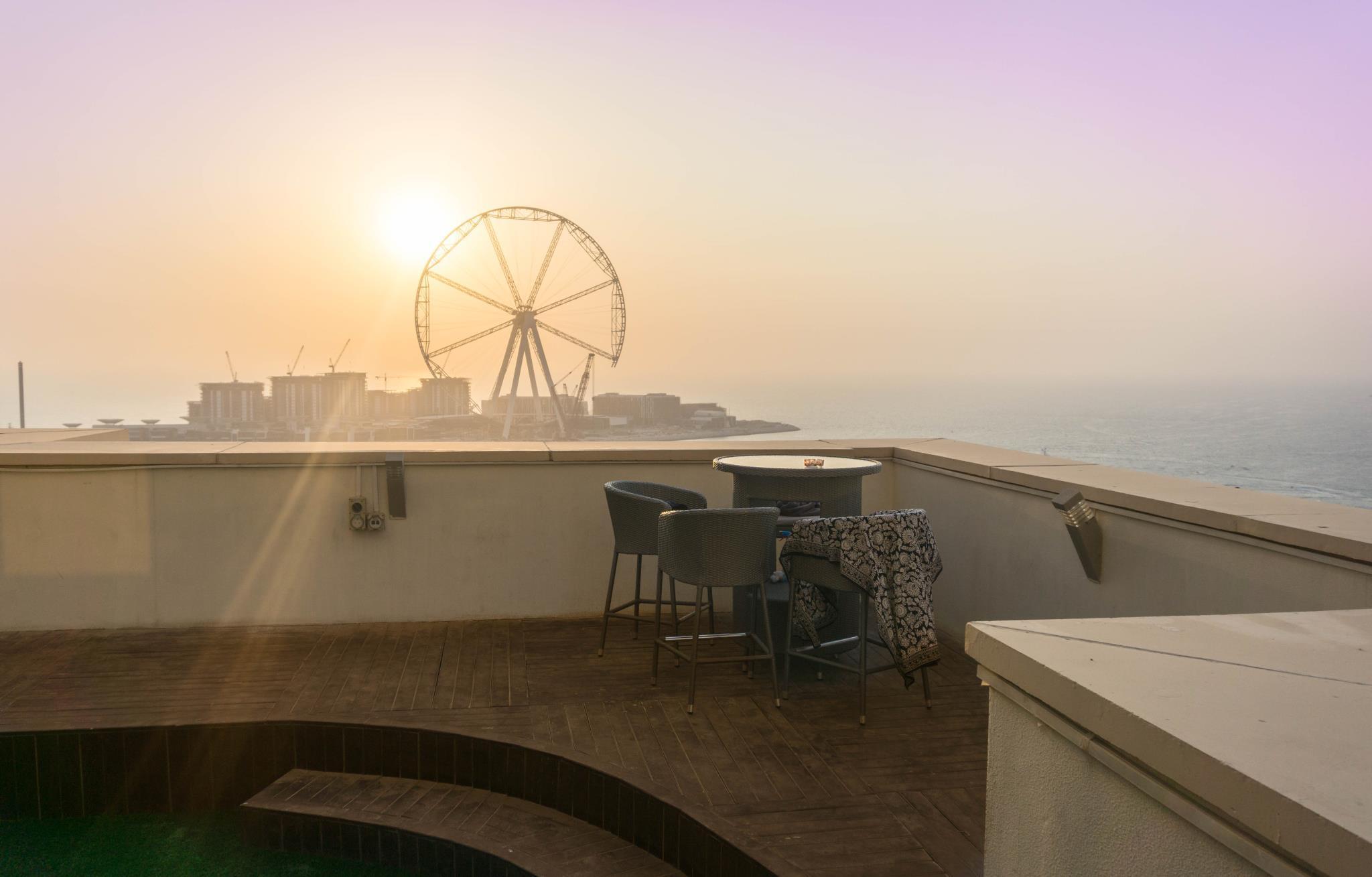 Dubai Beach Host – Terrace Apartments – Dubai 1