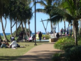 Koola Beach Apartments Bargara Bundaberg - Oceanfront walkways with Kids Playground