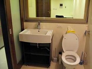 ลัคกี้ อพาร์ตเมนท์-ไทเป 101 อพาร์ตเมนท์ 1 ไทเป - ห้องน้ำ