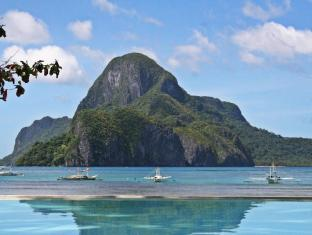 Cadlao Resort and Restaurant El Nido - View of Cadlao Island from the Pool Area