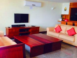 Kalim Beach Place Phuket - On Beach Sea-View Villa 3 Bedroom living room