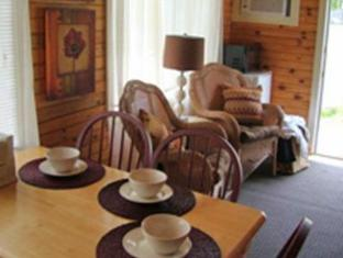 Bay Leaf Cottages & Bistro Lincolnville (ME) - Hotellet från insidan