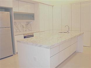 Regency Home Penang - Dry Marble Island Kitchen