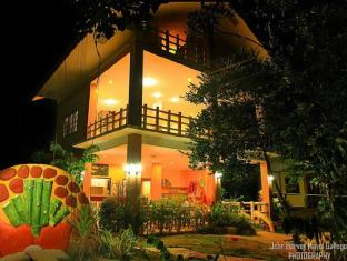 Alexis Cliff Dive Resort Bohol - Main building at night by John Harvey Mayol Gallego Photography