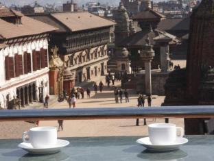 Khwapa Chhen Restaurant and Guest House Bhaktapur - Rooftop Restaurant
