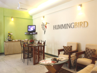 Humming Bird - Sagar Heights Apartment Mumbai - Vastaanotto