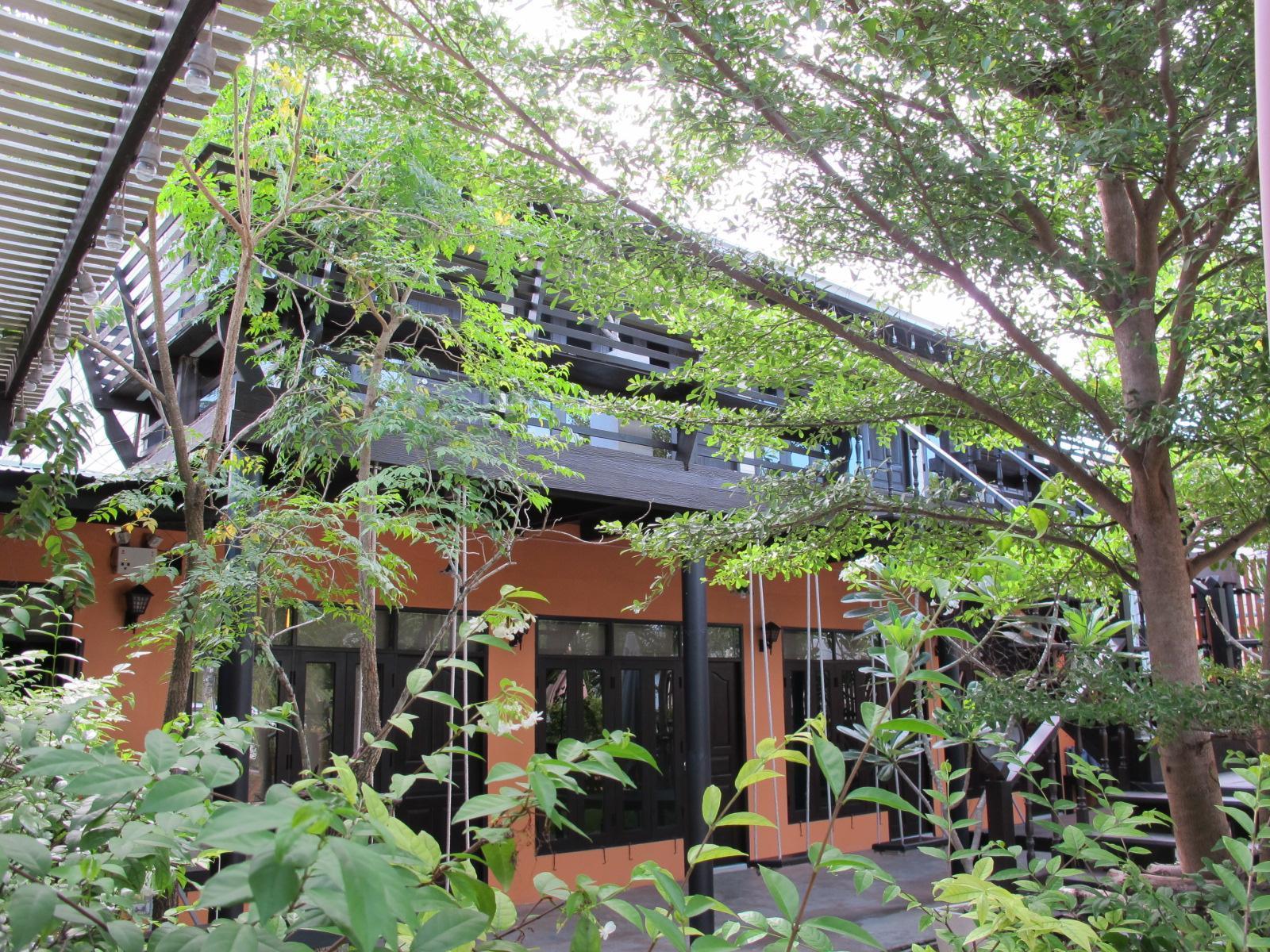 潘维曼安帕瓦花园度假村,ปานวิมาน อัมพวา การ์เด้น รีสอร์ท