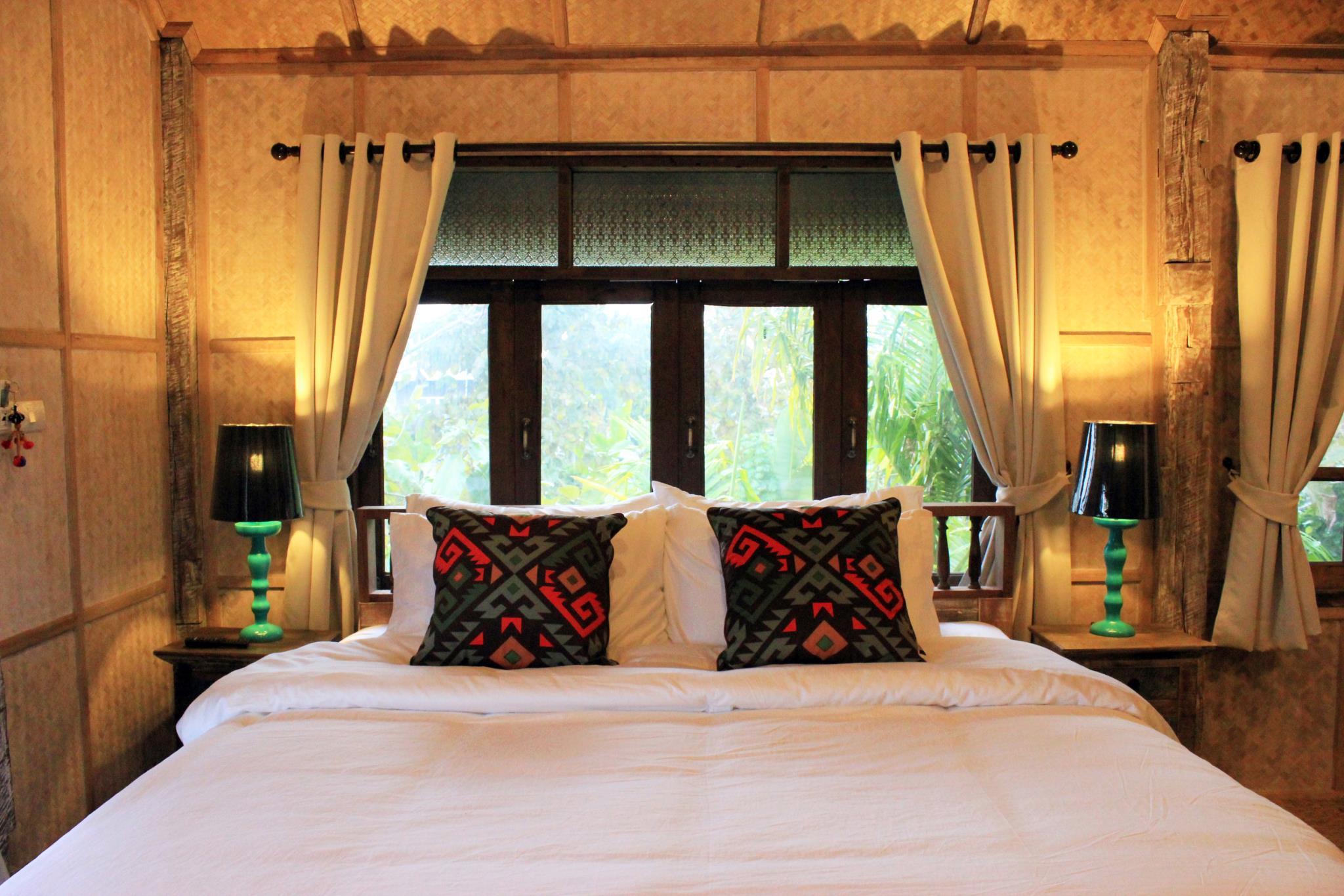 Baanchandra home stay Double Bedded Room.,สตูดิโอ บ้าน 0 ห้องน้ำส่วนตัว ขนาด 43 ตร.ม. – หางดง