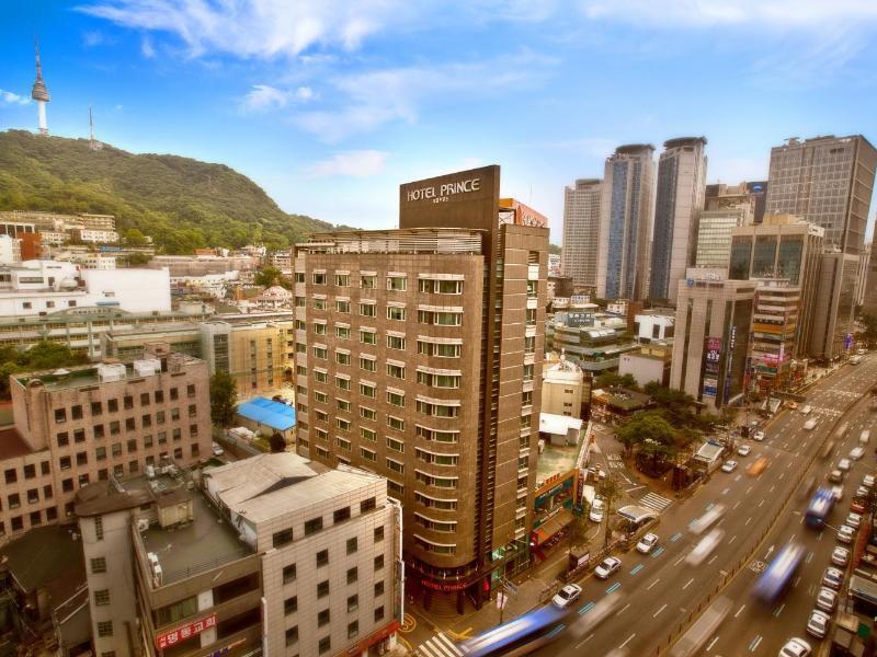 South Korea-프린스 호텔 (Prince Hotel)