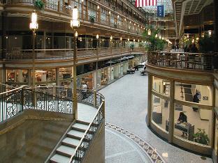 Interior Hyatt Regency Cleveland at The Arcade