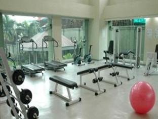 Pinoy Backpackers at Dansalan Gardens Condominium Manila - Fitness Room