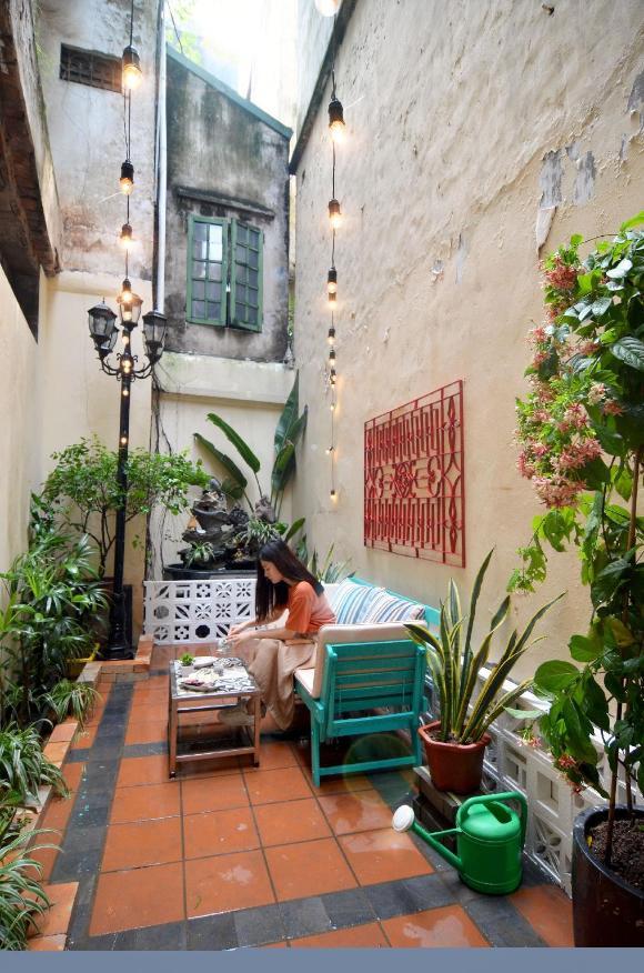 Central Villa Oldquarter - Ceramic flat w garden