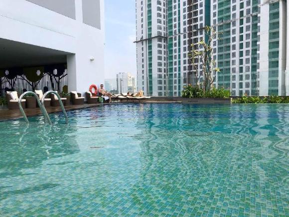 Studio Apt#Infinity Pool#Walk to Bui Vien Dist. 1