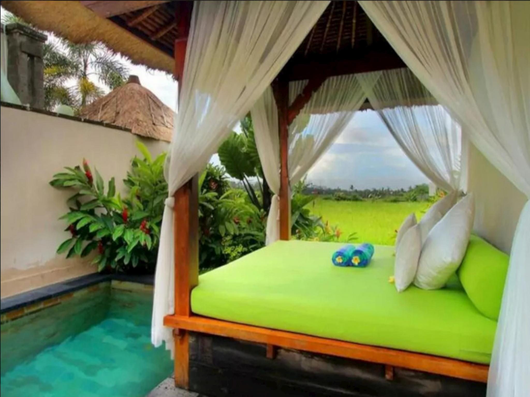 1BR Private Pool Villa with Ubud Padifield view