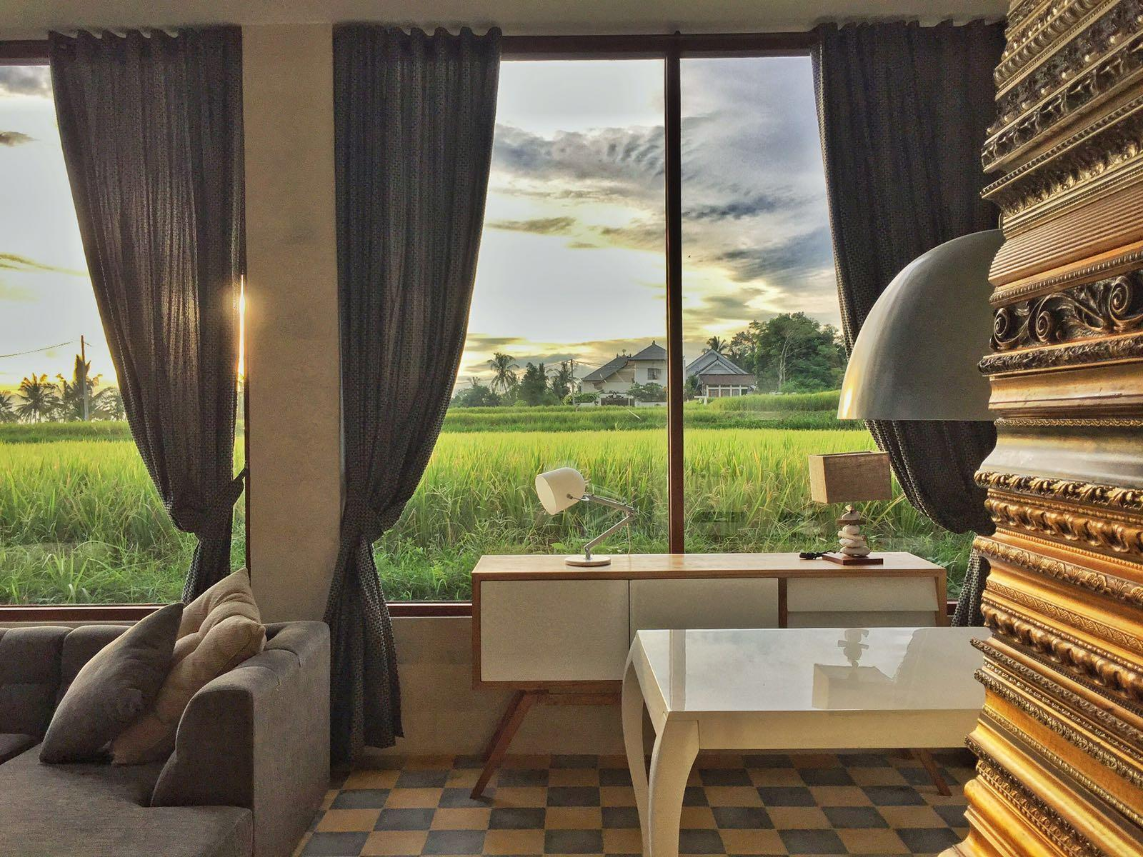 3 Bedroom Sunset Villa with Rice Paddy View