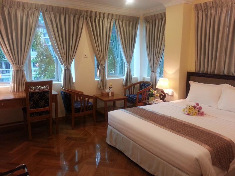 【 ヤンゴン 空室ホテル】Grand Laurel Hotel(Grand Laurel Hotel)
