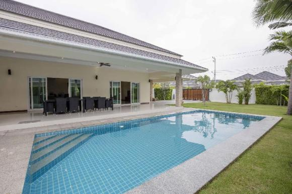 Palm Villas - 3 Bed 3 Bath, Private swimming pool for Rent @Hua Hin/Cha-am - 20005614