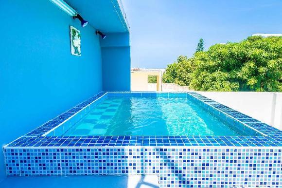 Moon Jacuzzi Villa W/sea View Near Cosy Beach - 97381453