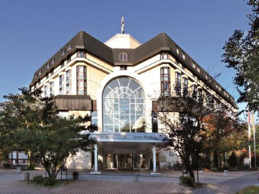 Best guest rating in Weimar ➦ Hotel Dorint am Goethepark Weimar takes PayPal