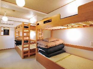 4 - Beds Private Japanese Room with Shared Bathroom