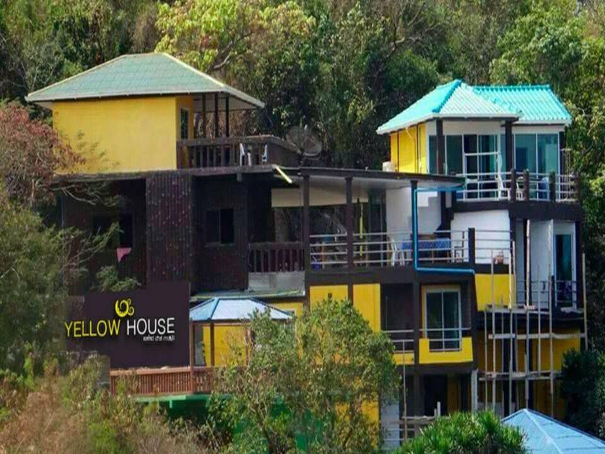 锡昌岛黄房子别墅,เยลโลว์เฮาส์ เกาะสีชัง